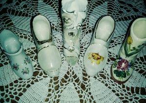 Vintage Ceramic Shoe/ Boot Lot